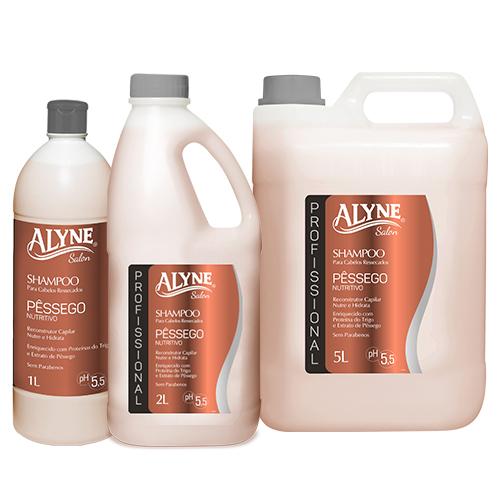 Shampoo Alyne Pêssego Nutritivo