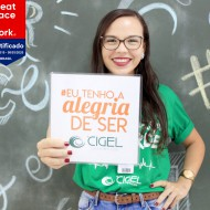 Cigel conquista selo Great Place To Work (GPTW 2019)