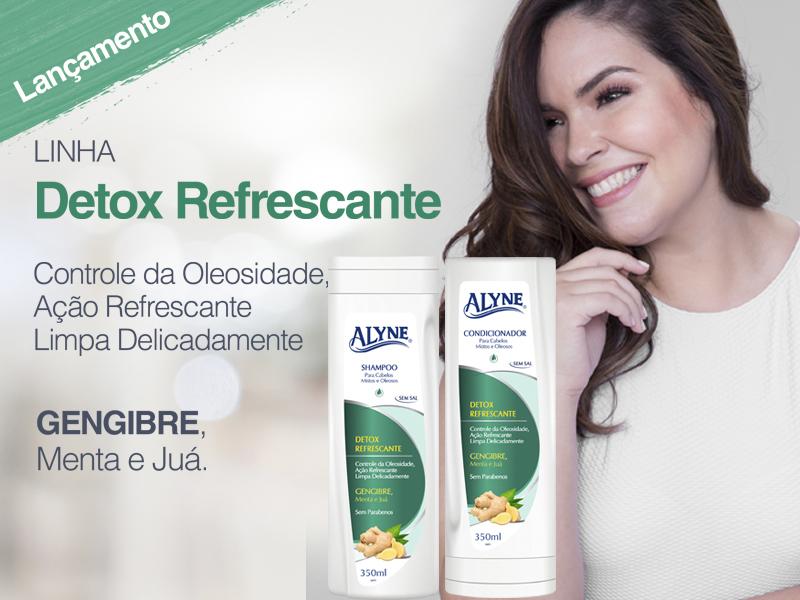 Linha Alyne Detox Refrescante