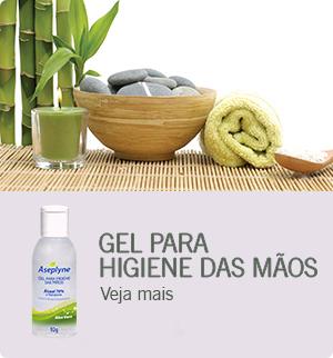 Gel para Higiene das Mãos Aseplyne - Clique e saiba mais